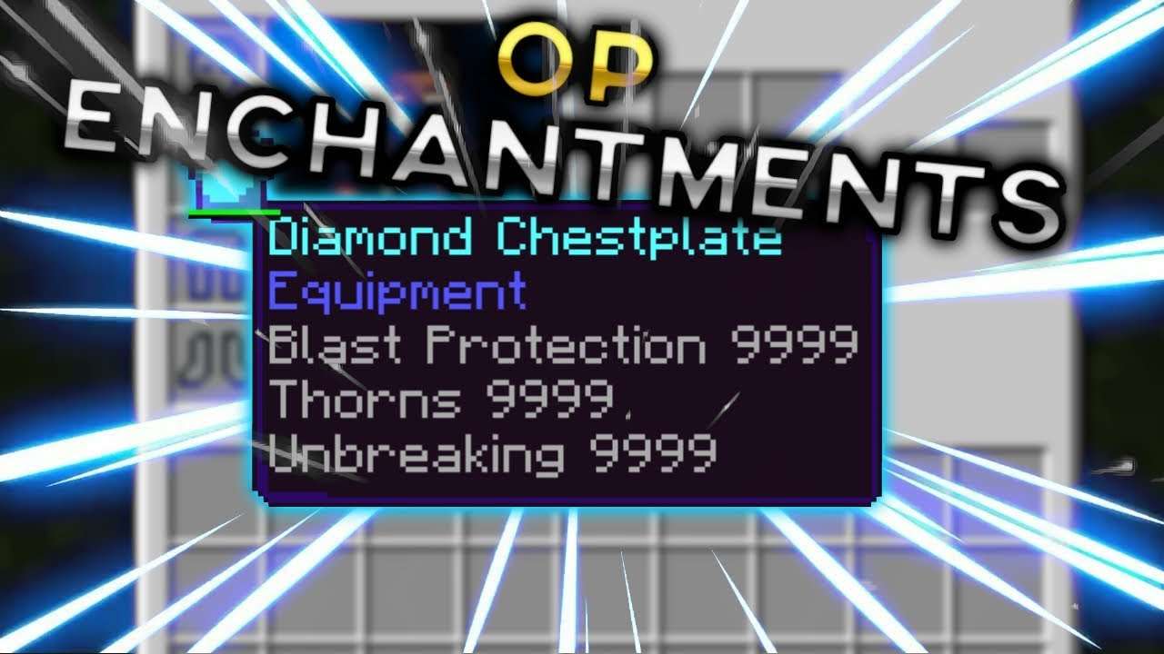MCPE Tutorials: How to Add GOD Enchantments | No Mods, Add ons, or Commands