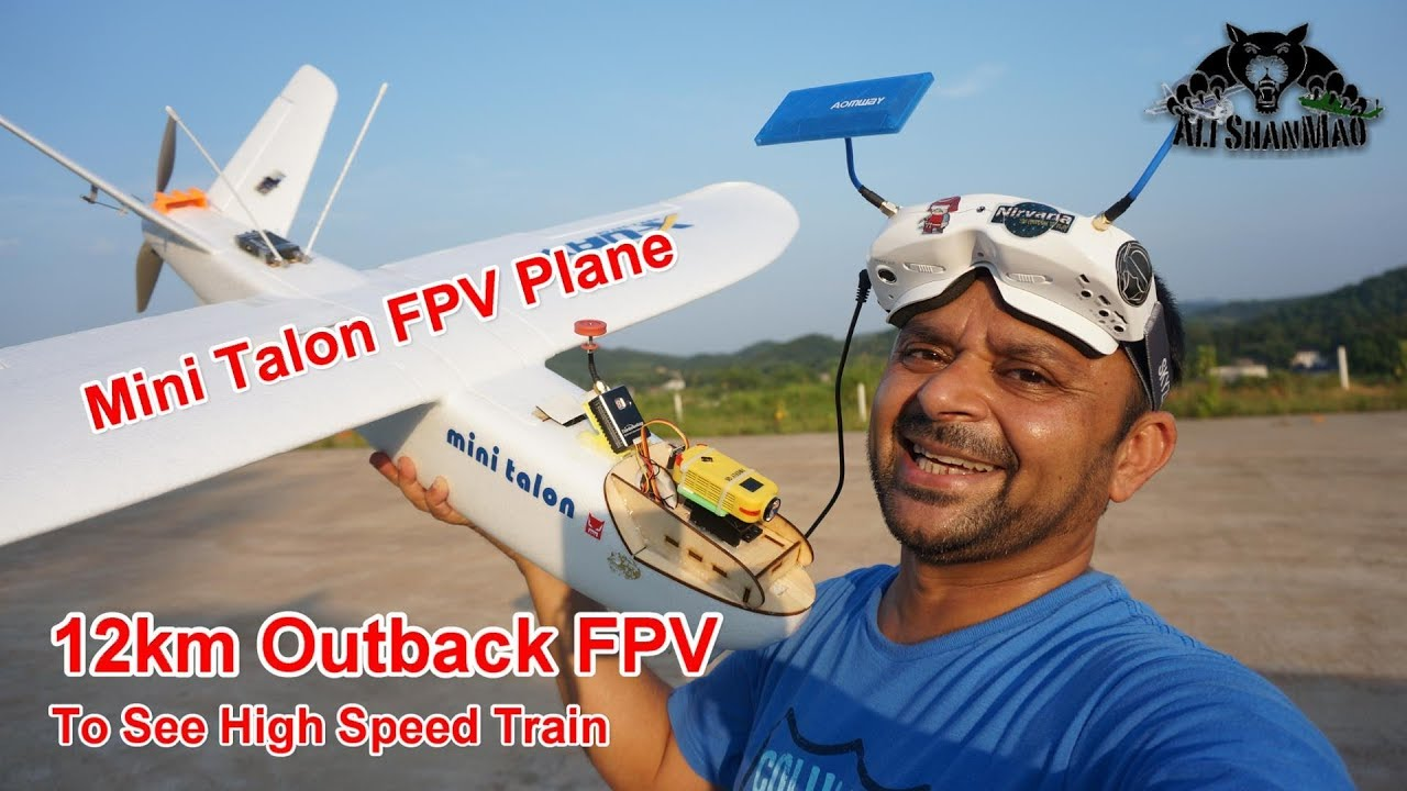Long Range FPV 12km Outback FPV to See High Speed Trains