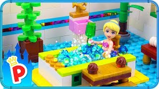 ♥ LEGO Cinderella Goes to SPA CENTER for a Full Body Treatment