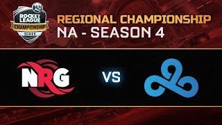 NRG vs CLOUD9 NA Regional Championship Semifinals - RLCS S4