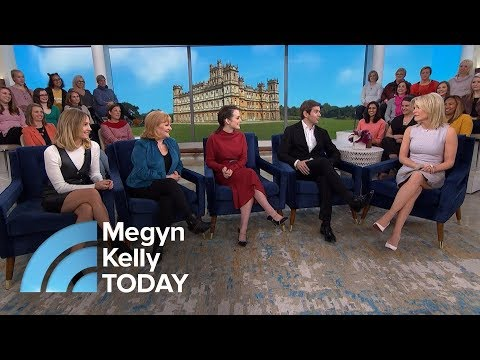 'Downton Abbey' Stars Talk About Possibility Of Movie Spinoff  Megyn Kelly TODAY