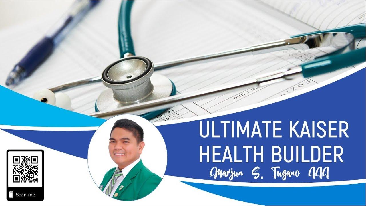 Kaiser Health Insurance Ultimate Kaiser Health Builder New And