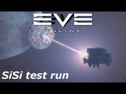 EVE Online - moon mining practice run