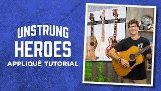 "Video Make an ""Unstrung Hero"" Guitar Applique  Quilt with Rob download MP3, 3GP, MP4, WEBM, AVI, FLV Juli 2018"