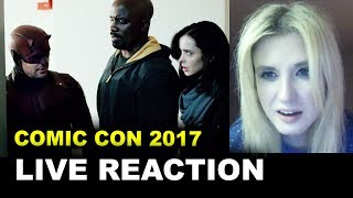 The Defenders Trailer 2 REACTION