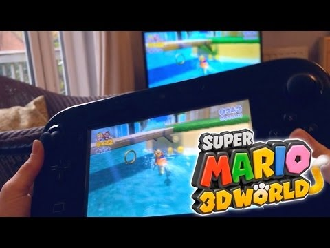 the best attitude 54694 a1e90 SUPER MARIO 3D WORLD – Wii U Family Hands On
