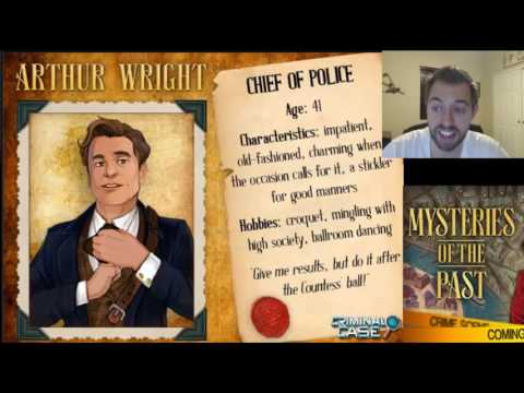 Criminal Case Mysteries of the Past - Arthur Wright CHARACTER REVEAL