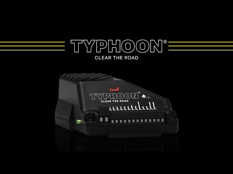 Feniex Typhoon // The Warning Industry's Top Siren & Light Controller Package for Fire and Police
