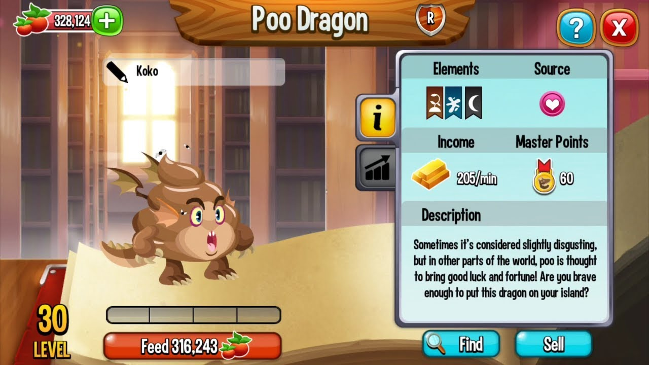 how to get poo dragon in dragon city