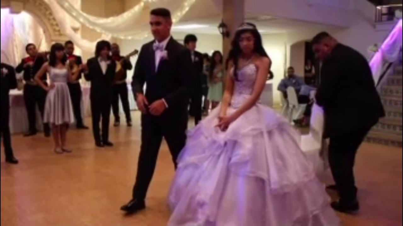 mias quince surprise gift youtube