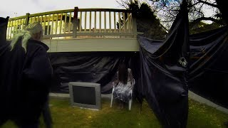 Haunted Backyard walk through 2013