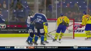 Joni Ikonen Hat Trick vs Sweden (WJSS - Aug 5, 2017)