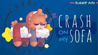 ASMR Roleplay: Crash on my sofa [Sleep Aid] [Gaming sounds] [Platonic]