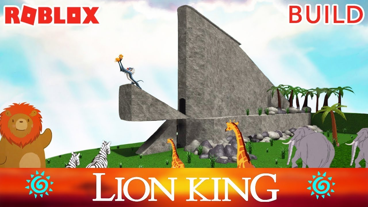 The Lion King Bloxburg Tour Roblox Decal Id S Included Youtube