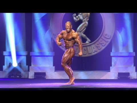 2017 Arnold Classic Men's 212: David Henry Posing Routine