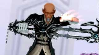Kingdom Hearts Dream Drop Distance: Riku Vs Young Xehanort 3DS Capture Card