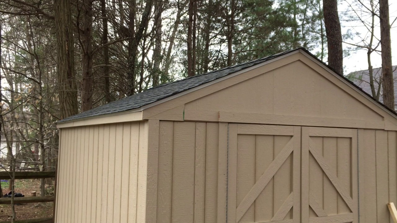 Storage shed installation service in woodbridge va by dave for Garden shed installation