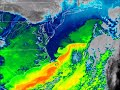 GOES East Sees Eddies in the Gulf Stream