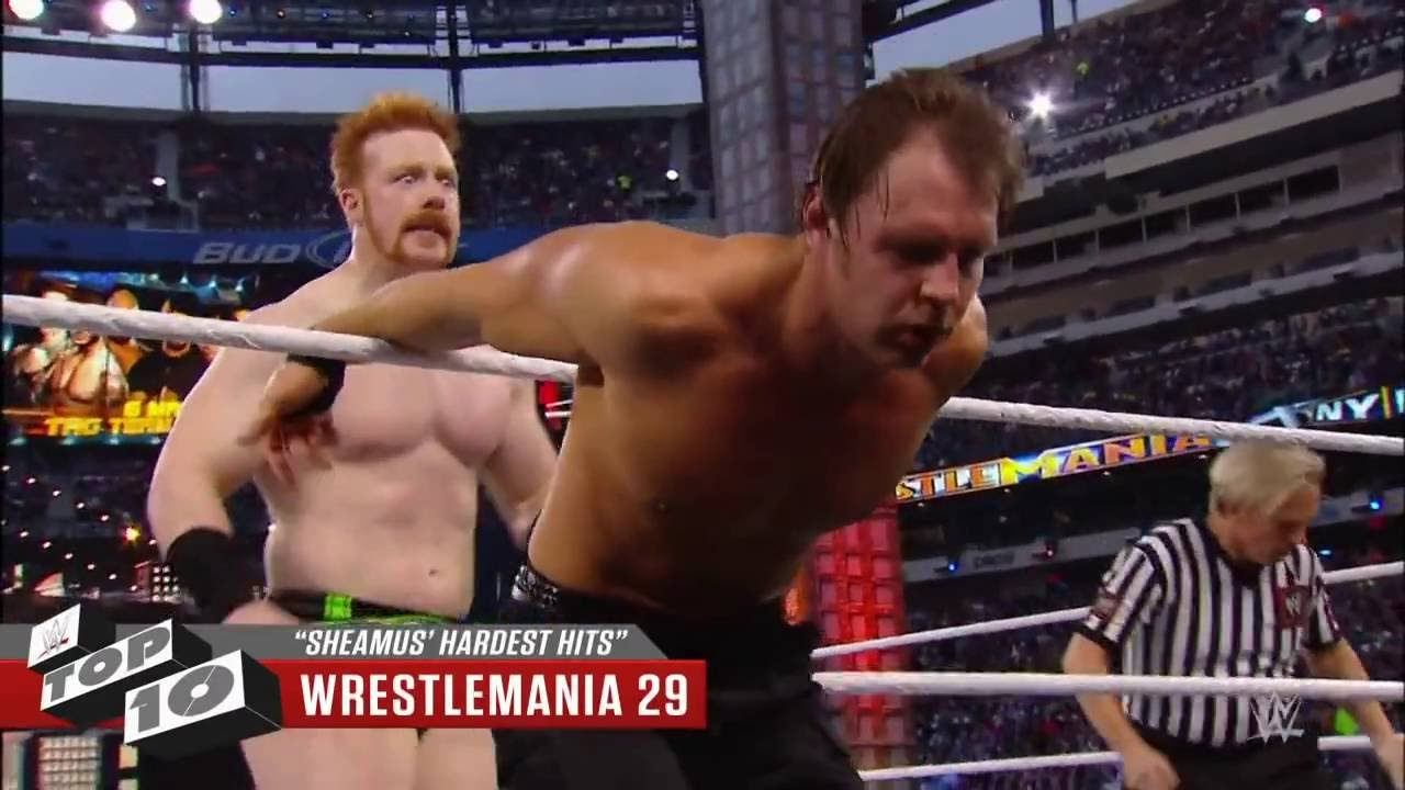 Download Sheamus' Hardest Hits – WWE Top 10