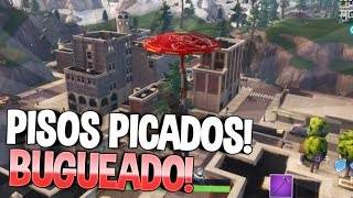CHOPPED FLOORS IS BUGUEED *WTF* BUG TILTED!!! | DIRECT FORTNITE #Fortnite