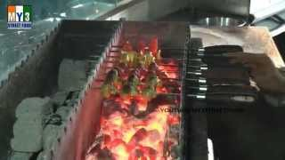 Bbq Grill Pineapple - Hyderabad Street Food
