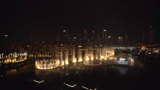 INFINITI takes over the Dubai Fountain at The Dubai Mall