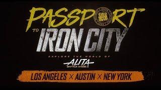 Passport To Iron City (Alita: Battle Angel Experience)