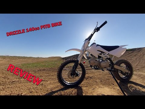 140cc Pit Bike Oil Cooled - Full Review - Drizzle 140cc from Nitro Motors