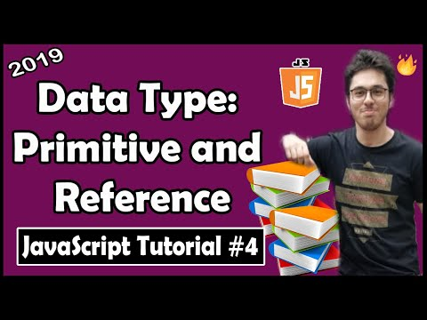 Data Types in JavaScript (Primitive & Reference Types) | JavaScript Tutorial In Hindi #4 thumbnail