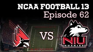 NCAA 13 Dynasty E62: S5G2 vs Ball State Cardinals