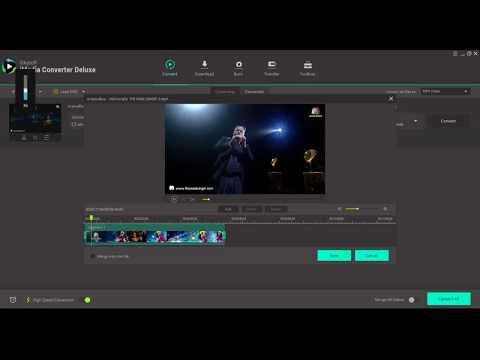 iSkysoft iMedia Converter Deluxe Video Cut