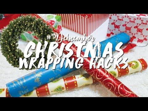CHRISTMAS WRAPPING HACKS #DEBCEMBER