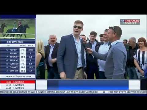 Hilarious Limerick Horse Owner Gives Live Interview