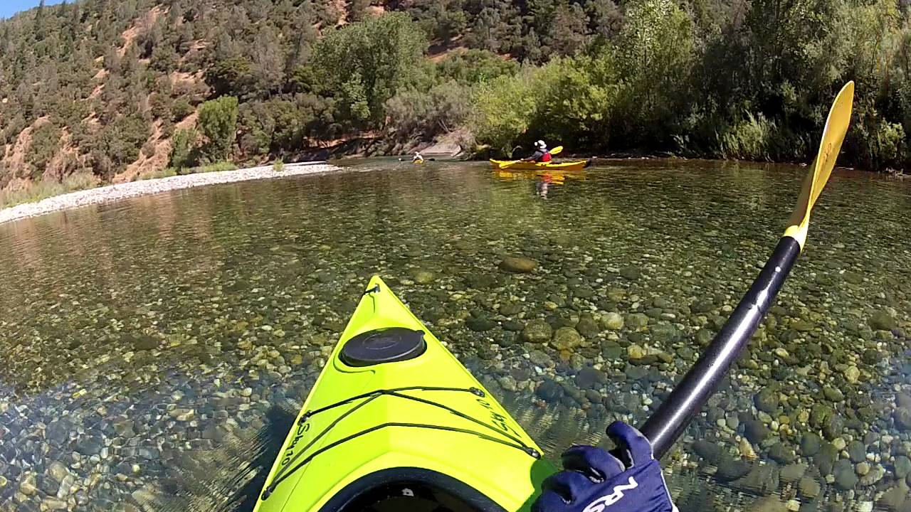 Kayaking downstream at upper lake clementine youtube for Lake clementine fishing