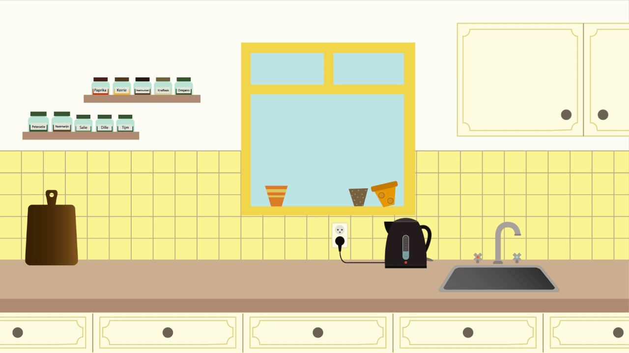 Kitchen Animation Youtube
