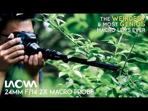 Макро объектив Laowa 24mm F14 (rus)