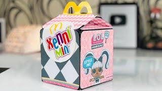 HAPPY MEAL LOL #HAIRGOALS McDonalds DIY и Хэппи Мил Лего Фильм 2