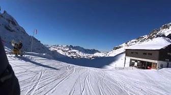skiing at Titlis Engelberg