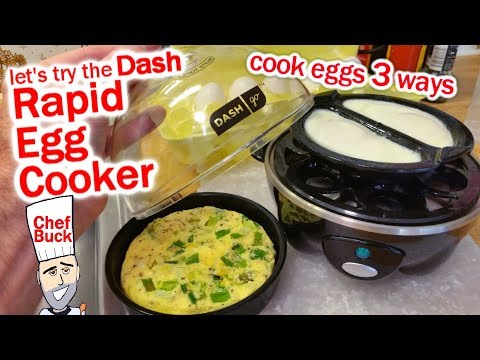 Dash Egg Cooker Any Good? Steam Eggs 3 Ways
