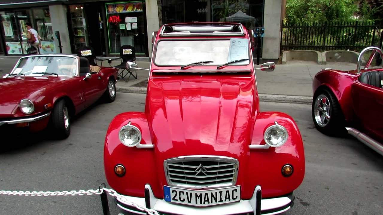 1986 citroen 2cv 6 exterior and interior saint catherine street montreal quebec canada. Black Bedroom Furniture Sets. Home Design Ideas