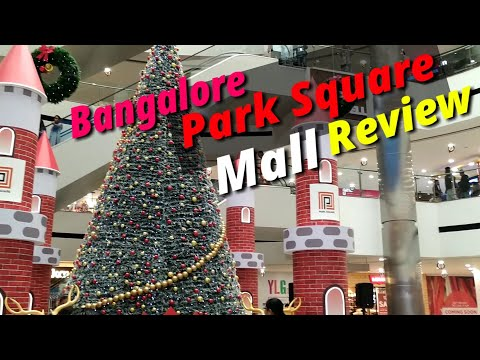 Bangalore PARK SQUARE MALL | Christmas Season | Review| தமிழ் | Navaneeth Vlog