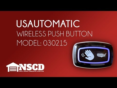 USAutomatic 030215 Wireless Push Button