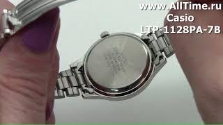 Обзор. Японские наручные часы Casio LTP-1128PA-7B