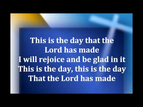 This is the Day w lyrics By Fred Hammond
