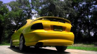 Yellow 2004 GTO Loudmouth exhaust