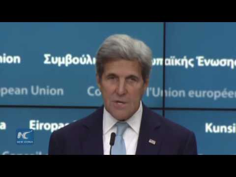 Kerry reiterates support for strong EU during Brussels visit