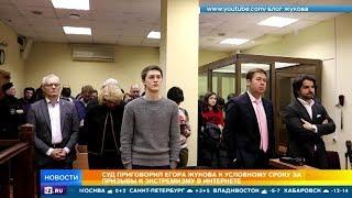 Что известно о приговоре Егору Жукову