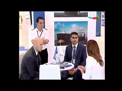 Azərbaycan Xəzər Dəniz Gəmiçiliyi 24-cü Caspian Oil & Gas 2017 sərgisində