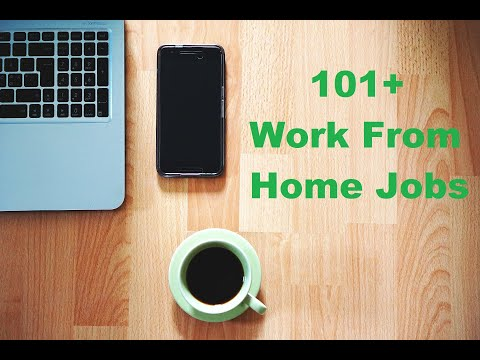 101+ ACTUAL Legitimate Work From Home Jobs List No Startup Fee 2020