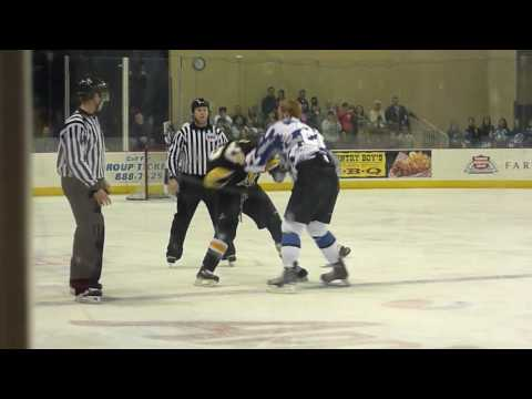 #22 Andrew Christ doing what he does for the Wenatchee Wild